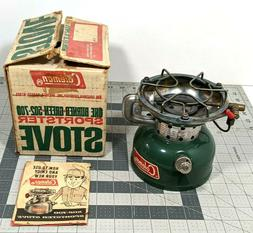 1970 COLEMAN 502-700 never used Sportster Camp Stove with Or