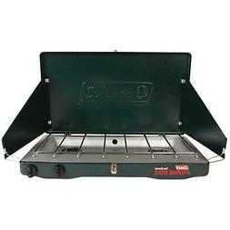 Coleman 2-burner Portable Propane Gas Stove 10,000 BTU Outdo