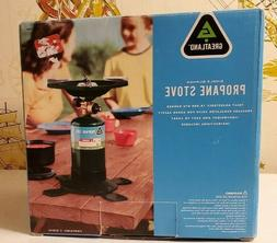 "Stansport 201 7-1/2"" Single Burner Propane Camp Stove"