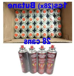 Gasone 28 Cans Butane Fuel Canisters Portable Camping Stoves