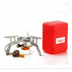 3500W Portable Outdoor Picnic Gas Burner Foldable Camping Mi