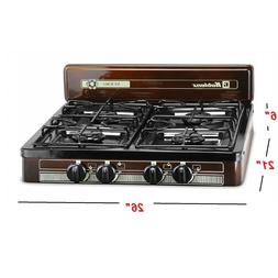4 Burner Portable Propane Gas Stove Outdoor Camping Stove Ac