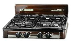 4 burner propane gas cooktop stove portable