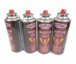 4 pack butane canister for portable camping