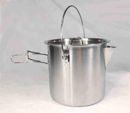 52 / 68 Ounce Stainless Steel Camping Pot Cooking Kettle - P