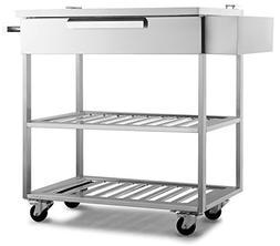 New Age 65007 Outdoor Kitchen Storage, Stainless Steel