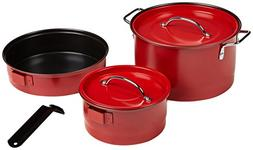 Coleman 807-741T Family Cookware Pots/Pans Camping Set Cookw