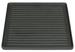 Stansport Pre-Seasoned Two Sided Cast Iron Grill/Griddle, 15