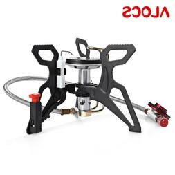 ALOCS Powerful Gas Grills Picnic Stove Burner For Outdoor Ca