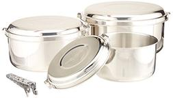 alpine 4 pot stainless steel