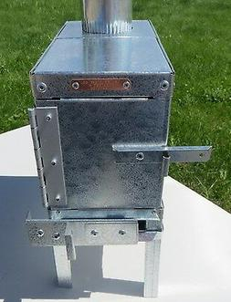 Baby Eagle Backpacker Wood Camp Tent Stove - Riley Stoves