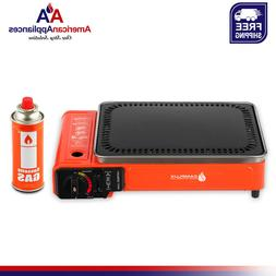 Camplux BBQ Stove Portable Butane Camping Table Top Gas Gril