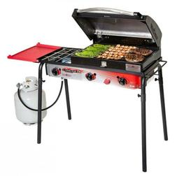 Camp Chef Big Gas Grill Travel Hiking Backpacking BBQ Picnic