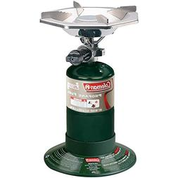 "Coleman Bottle Top Propane Stove,Green,6.62"" H x 7.81"" W x 7"