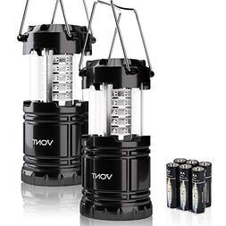 Vont 2 Pack LED Camping Lantern, Portable Lanterns, Great Ad