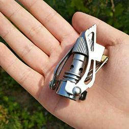 Gas Hiking Stove Burner Camping Titanium 2700w Folding Brs-3