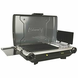 Coleman Camp Propane Grill Stove+ Outdoor Travel Hiking Back