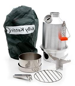 Scout 41 oz. Anodized Aluminum Kelly Kettle Basic Kit  Rocke