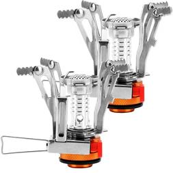 Camp Stove Portable Outdoor Ultralight Backpacking Stove w P