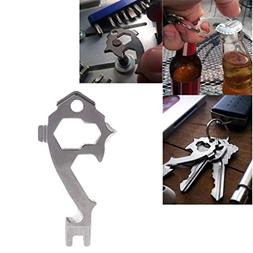 Camping & Hiking,Dartphew 1 Pcs Keychain Wrench Opener,20-In