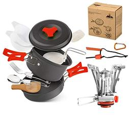 Camping Cookware Set Hiking backpacking Gear & Camping Outdo