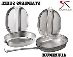 Camping Mess Kit Outdoor Travel Cookware Military Cooking Pa