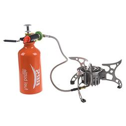 TOOGOO Outdoor Camping Multi-fuel Stove Backpacking Cookware