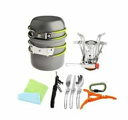 camping set picnic pot pan