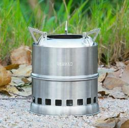 Camping Stove Portable Backpacking Outdoor Hiking Travel Pic