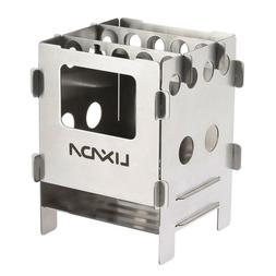 Camping Woods Stove Burners Titanium Stainless Steel Lightwe