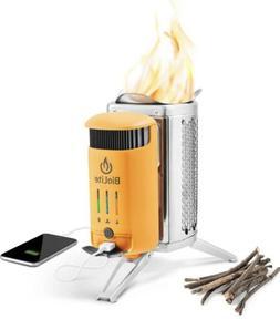 BioLite Campstove 2 Wood Burning Electricity Generating & US