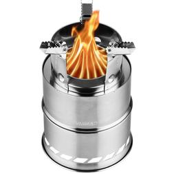 Canway Camping Stove, Wood Stove/Backpacking,Portable Stainl