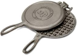 Rome Cast Iron Old Fashioned Waffle Irons, Pack of 4