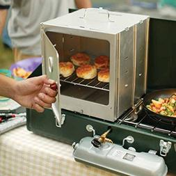 COLEMAN Portable Camping Oven Kitchen Enclosed w/ Adjustable