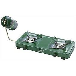 Texsport Compact Dual 2 Burner Propane Stove for Outdoor Cam