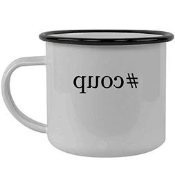 #coup - Stainless Steel Hashtag 12oz Camping Mug