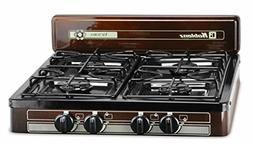Electric 4 Burner Gas Stove Portable Lightweight Camping Sto