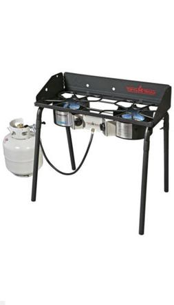 Camp Chef Explorer Deluxe Face Plate, 2 Burner Stove