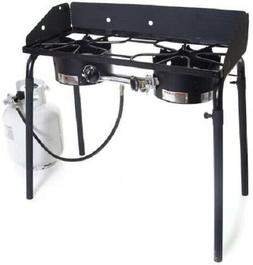 explorer double burner stove