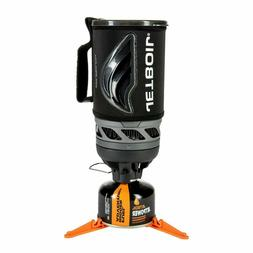 Jetboil Flash Camping Cooking System boils water in lightnin