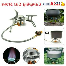Folding Portable Gas-Burner Fishing Outdoor Cooking Camping