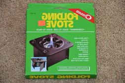COGHLAN'S FOLDING STOVE Camping canned fuel burner folds fla