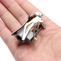 <font><b>Outdoor</b></font> Stove Titanium Alloy Folding Min