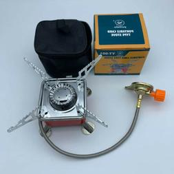 Gas Burner Camping Stove Tourist Equipment  Outdoor Kitchen