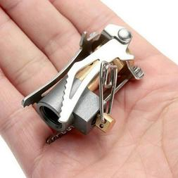 Gas Burner Mini Stove Outdoor Picnic Portable Backpacking Ca