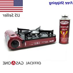 GAS ONE NEW GS-3500 Portable Butane Gas Stove UL/CSA Listed