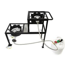 GAS ONE Propane Burner Two Step/Tier 300,000-BTU High-Pressu