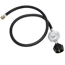 Gas One Heater Universal 3 Feet Propane Regulator and Hose Q