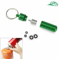 gas refill adapter outdoor camping stove gas burner gas cyli