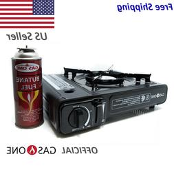 GasOne GS-3000 Portable Gas Stove, Black
